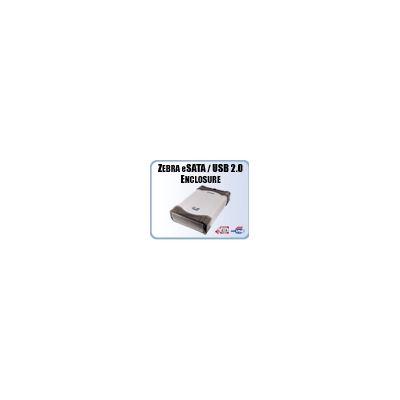 Addonics Zebra eSATA/USB combo drive enclosure