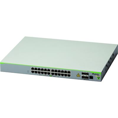 Allied Telesis 24 port 10/100T POE managed access switch-TBA