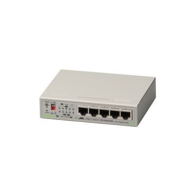 Allied Telesis 5 PORT 10/100/1000T UNMANAGED SWITCH WITH EXTERNAL PSU (AC ADAPTOR)