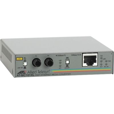 Allied Telesis Media Converter 100BaseTX to 100BaseFX (ST Multimode)