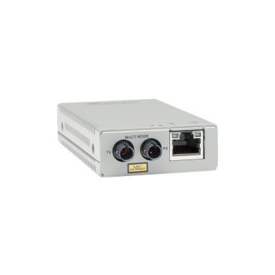 Allied Telesis 10/100TX TO 100FX/ST FAST ETHERNET MINI MEDIA CONVERTER WITH MULTI-MODE ST