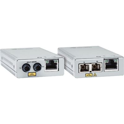 Allied Telesis 10/100/1000T TO 1000SX/LC GIGABIT MINI MEDIA CONVERTER WITH MULTI-MODE LC FIBER