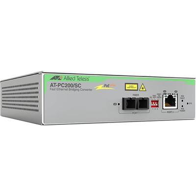 Allied Telesis 2port Fast Etherne sw 100TX Poe 100FX Multi-Region Power Adapter