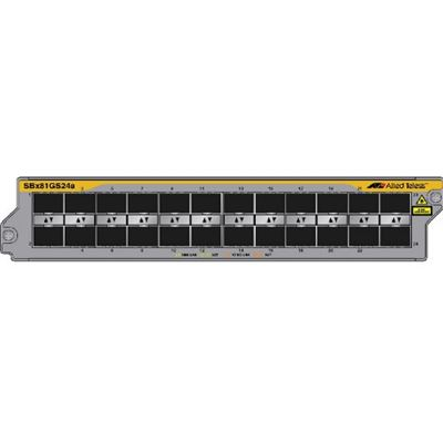 Allied Telesis AT 24 Port SFP linecard (100 and 1000Mbps) (unpopulated)Req