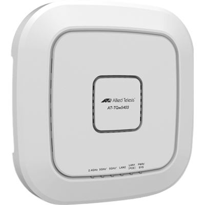 Allied Telesis IEEE 802.11AC WAVE2 WIRELESS ACCESS POINT WITH TRI-BAND RADIOS AND EMBEDDED