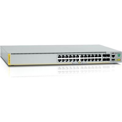 Allied Telesis AT Stackable Gigabit Layer 3 Switch 24x10/100/1000T + 4xSFP+