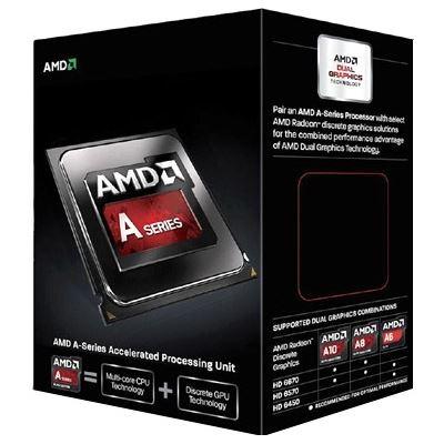 AMD A6 6400K BLK Edition FM2 3.9 GHz (4.1 GHz Turbo) 1MB 65W HD8470D