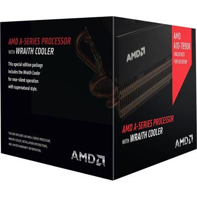 AMD A10 7890K 4.3 GHz BLACK 95W SKT FM2+ 4MB Wraith Cooler PIB