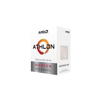 AMD Athlon 220GE 2 Core. 4 Threads. up to 3.2Ghz . 35W, AM4 socket,5MB Cache, with