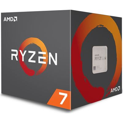 AMD Ryzen 7 2700X 8 Core AM4 CPU with Wraith Prism Cooler