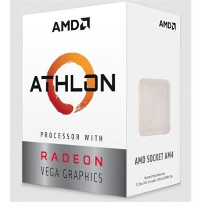 AMD Athlon 3000G 3.5GHZ Vega 3 SKT AM4 L2 5MB 35W PIB
