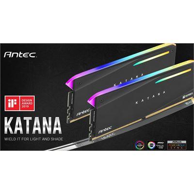 Antec Katana RGB 16GB (2x8GB) DDR4 3200MHz C16 16-18-18-38, PC4-25600, 1.35V Desktop