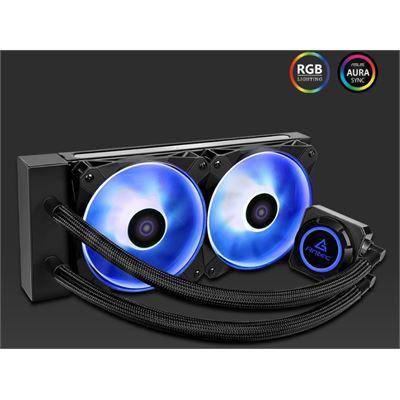 Antec K240 RGB All in One CPU Liquid Cooler, LGA 2066, 2011, AMx, FMx