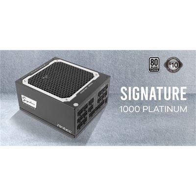 Antec Signature 1000w 80+Platinum Fully Modular, FDB 135mm Fan, Zero RPM, Phase Wave