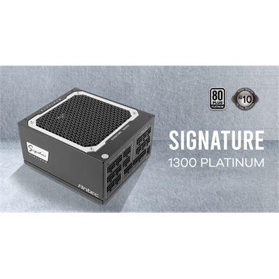 Antec Signature 1300w 80+Platinum Fully Modular, FDB 135mm Fan, Zero RPM, Phase Wave