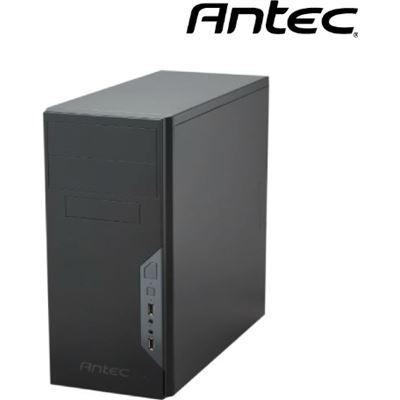 Antec VSK3500E-U3 mATX Case with 500w PSU. 2x USB 3.0 Thermally Advanced Builder's