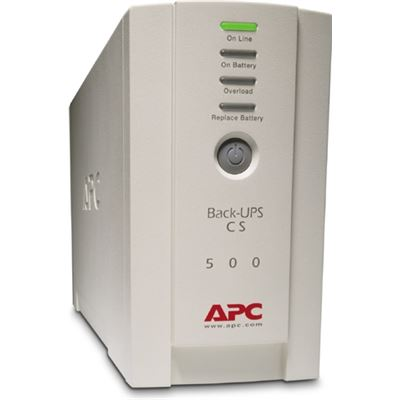 APC CONCURRENT 5Y WARRANTY PLUS BACK-UPS CS 500 USB/SERIAL