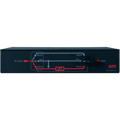 APC SERVICE BYPASS PANEL- 230V 50A MBB IEC320 C20/HW INPUT IEC-320 OUTPUT- (2) C19