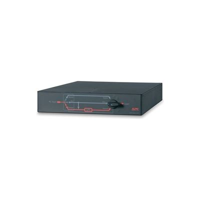 APC SERVICE BYPASS PANEL- 230V 50A MBB HARDWIRE INPUT (4) IEC-320 C19 OUTPUT