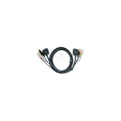 ATEN 2L-7D03U USB DVI D KVM Cable