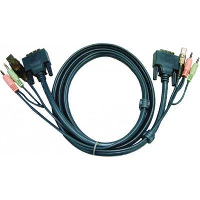ATEN USB DVI-D Dual Link KVM Cable (3.0m)