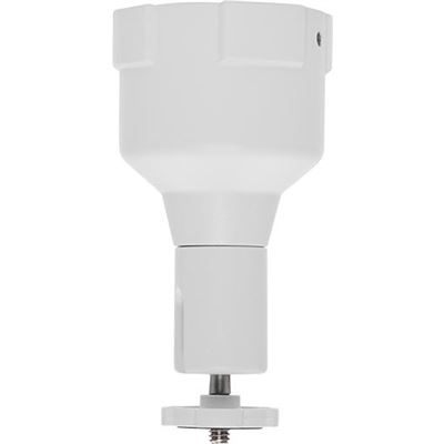 """Axis Communications Holding device for pendant mounted cameras. For use with 1,5"""" pipes with NPS or"""