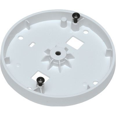 Axis Communications White mount bracket for mounting on standard tripod threading (1/4in-20 UNC) or