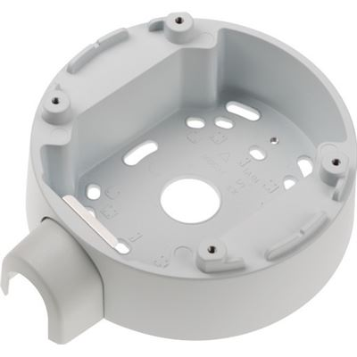 Axis Communications Back box for 3/4in (M25) conduits/cable protection pipes. Compatible with AXIS