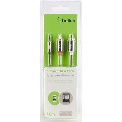 Belkin Aux Audio to Stereo Audio Cable 1.8m