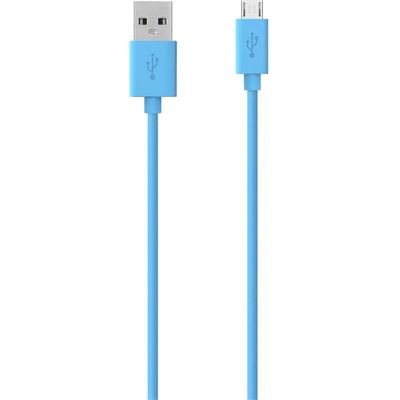 Belkin MIXITUP Micro USB Charge/Sync Cable 1.2m, Blue