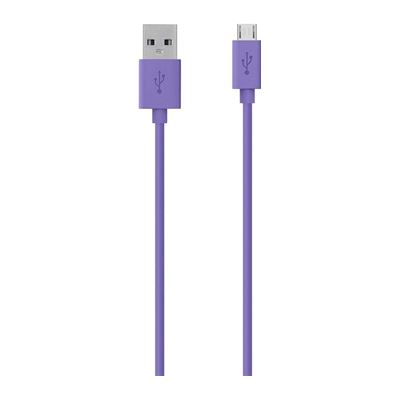 Belkin MIXITUP Micro USB Charge/Sync Cable 1.2m, Purple
