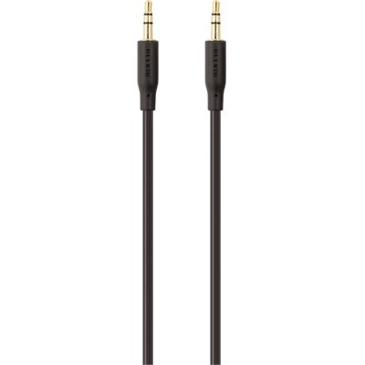 Belkin ESSENTIAL STEREO 3.5MM-AUDIO CABLE, 2M - BLACK
