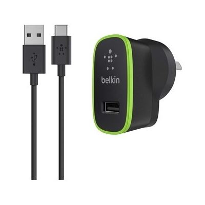 Belkin USB-C TO USB-A CABLE WITH UNIVERSAL HOME CHARGER, 2YR WTY