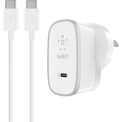 Belkin HOME CHARGER 15W USB-C W/ USB-C CABLE