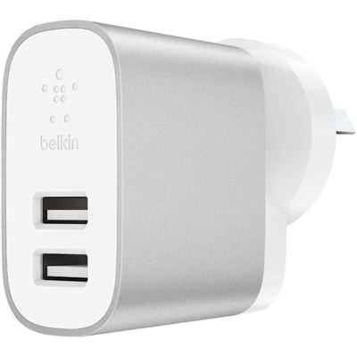 Belkin 24W DUAL-PORT HOME CHARGER