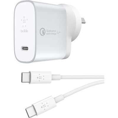 Belkin QC4+ 27W USB-C HOME CHARGER + USB-C CABLE