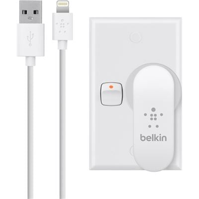 Belkin DUAL USB AC CHARGER,5V,2.1A,W/ 4' LTG CABLE,WHITE