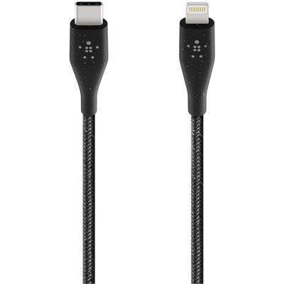 Belkin DURATEK PLUS USB-C TO LIGHTNING CABLE, BLACK