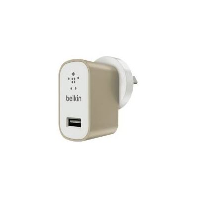 Belkin Premium Universal Chipset Wall Charger - Gold
