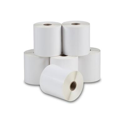 Calibor Thermal Label Perm Plain 32x24mm 3 Across Roll 6000