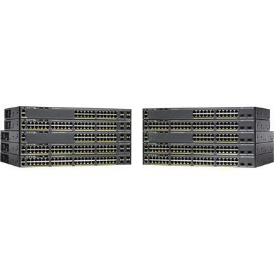 Cisco Catalyst 2960X 48 GigE PoE 370W 2 x 10G SFP+ LAN Base