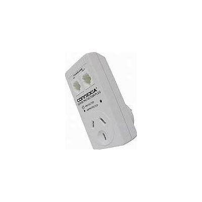 Connexia Surge Protector Plug modular Tel Sckts