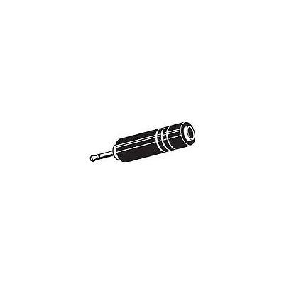 Connexia 3.5mm Mono Plug - 6.3mm Stereo Socket