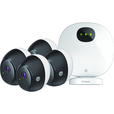 D-Link (DCS-2804KT) Omna Wire-Free Camera Kit 4-Pack