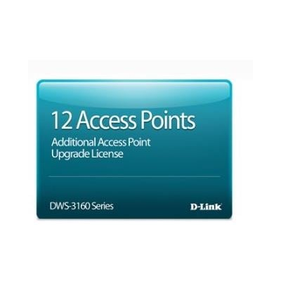 D-Link 12 Access PoInternational Licence for DWS-3160-24PC
