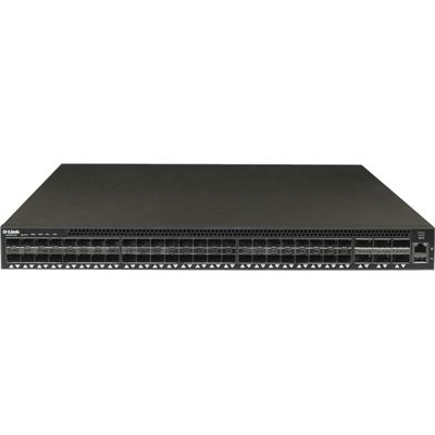 D-Link 54-PORT DATA CENTRE SWITCH WITH 48 10 GBE SFP+ PORTS AND 6 40 GBE QSFP+ PORTS