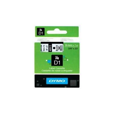 Dymo Label Tape D1 9mm x 7m Black on White