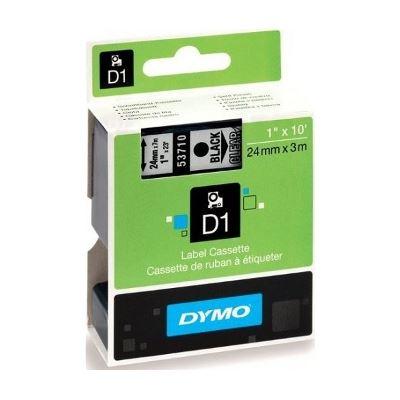 Dymo DSD53710 - Dymo Blk on Clr 24mmx7m Tape