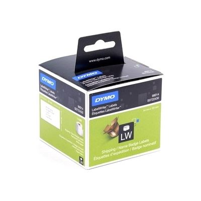 Dymo Standard Shipping – Paper Size: 54mm x 101 mm - 1 roll/box. - 220 labels/roll