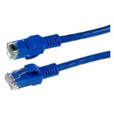 Dynamix 0.5m Cat5E CCA Blue UTP Patch Lead (T568A Specification) NOTE: Limited lifetime